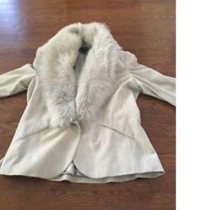 Ralph Lauren collection luxurious suede jacket